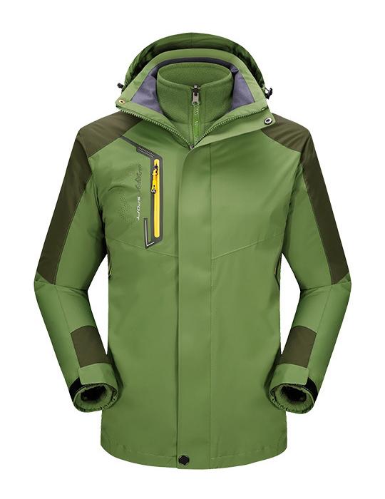 CFY008户外冲锋衣三合一两件套