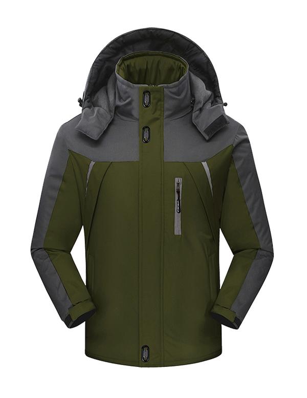 CFY009户外冲锋衣三合一两件套