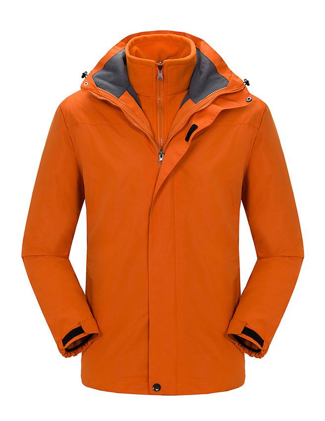 CFY006户外冲锋衣三合一两件套