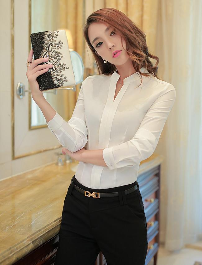 C15-1时尚衬衫职业女装