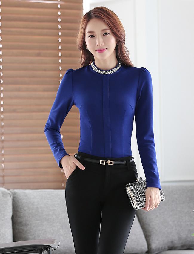 C16-1时尚衬衫职业女装