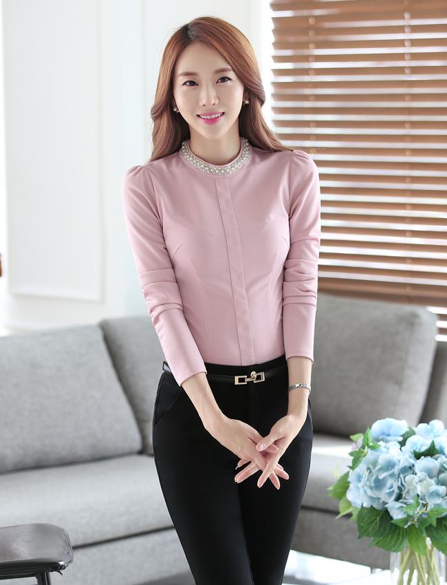 C16-4时尚衬衫职业女装