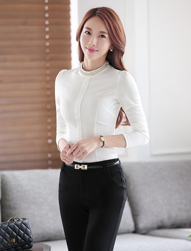 C16-2时尚衬衫职业女装