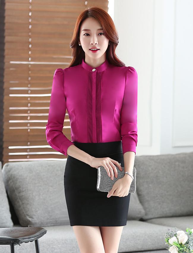 C17-2时尚衬衫职业女装