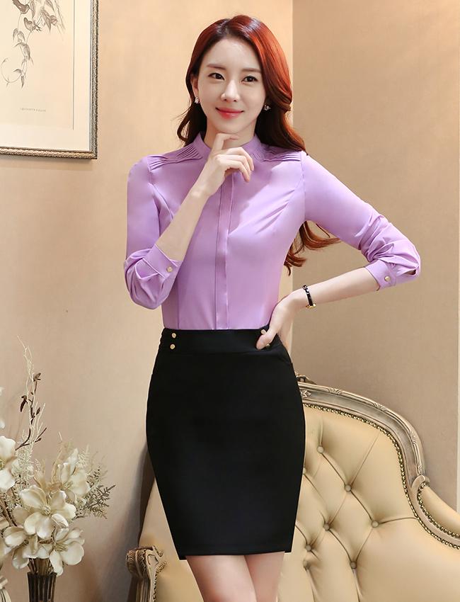 C18-2时尚衬衫职业女装