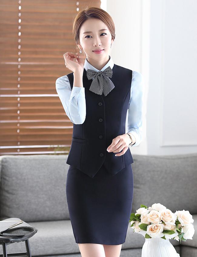 MJ-1时尚马夹职业女装
